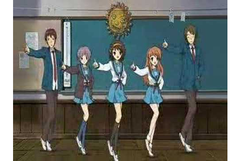 Suzumiya Haruhi ED Special Version quality up ver - YouTube