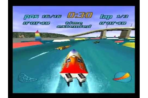 Rapid Racer - Playstation 1 demo (Demo1) - YouTube