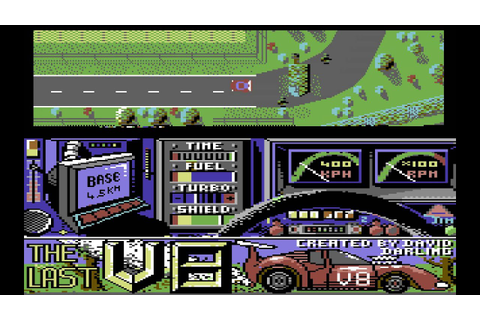 The Last V8 Longplay (C64) [50 FPS] - YouTube