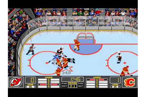 NHL '94 (aka NHL Hockey) (1993, Electronic Arts) - YouTube