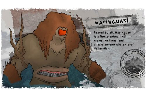 Aritana and the Harpy's Feather - Mapinguari, Feared by ...
