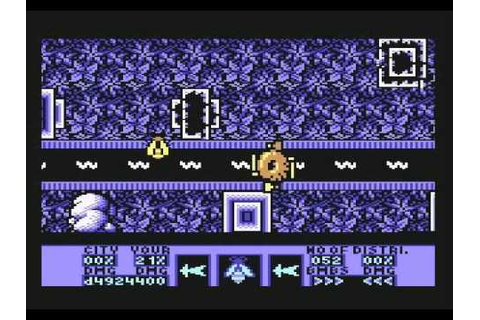 Amaurote - Commodore 64 gameplay - YouTube