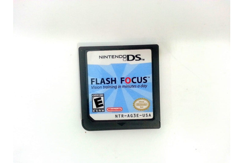 Flash Focus Vision Training game for Nintendo DS (Loose ...
