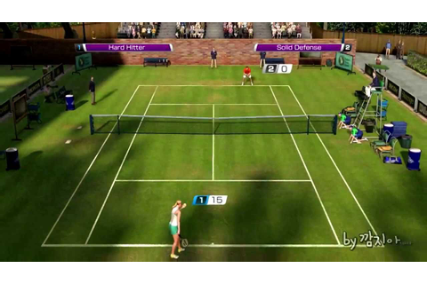 Virtua Tennis 4 (PC) Game Play - YouTube