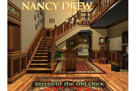 games: Nancy Drew : Secret of the Old Clock
