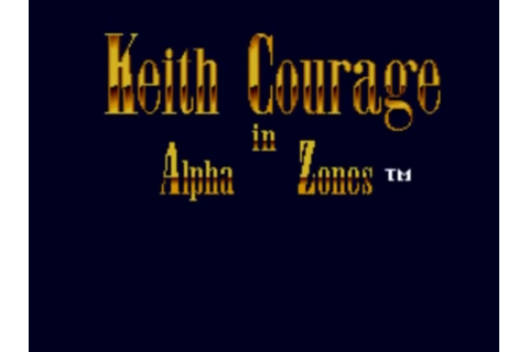 Keith Courage in Alpha Zones Details - LaunchBox Games ...