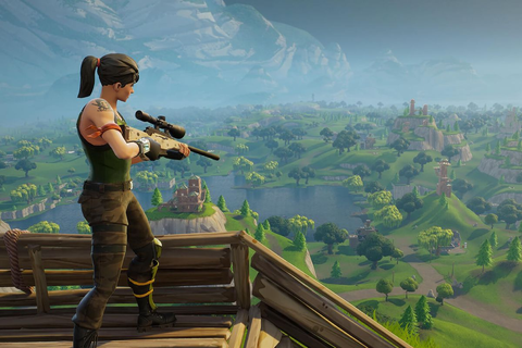 Fortnite on Switch:, the unlikely shooter game obsession ...