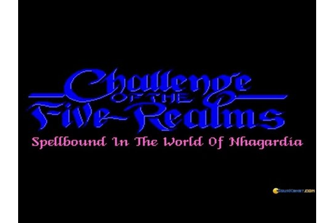Challenge of the Five Realms gameplay (PC Game, 1992 ...