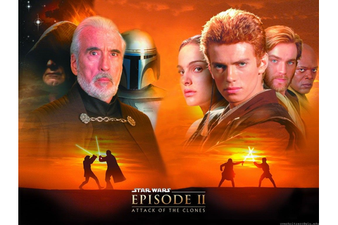 Wallpaper Cinema > Star Wars Episode 2 L Attaque Des ...