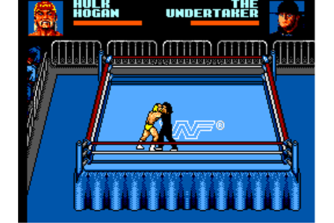 Play Game Gear WWF Wrestlemania Steel Cage Challenge ...