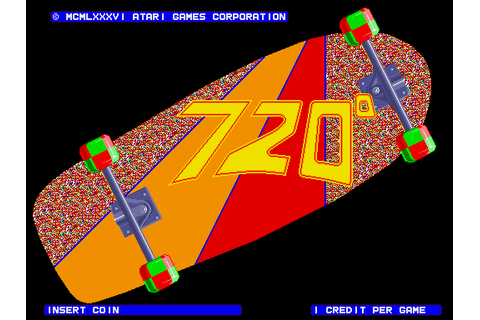 720 Degrees - Videogame by Atari Games