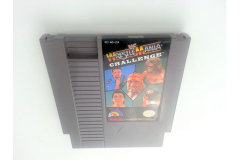 WWF Wrestlemania Challenge game for NES (Loose) | The Game Guy