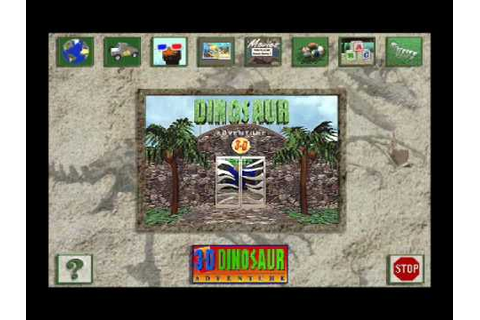 3D Dinosaur Adventure for the PC (DOS) - YouTube