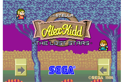 Play Alex Kidd : The Lost Stars Coin Op Arcade online ...
