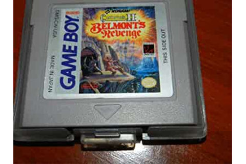 Amazon.com: Castlevania II: Belmont's Revenge: Video Games