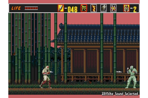 The Revenge Of Shinobi Game - Free Download Full Version ...