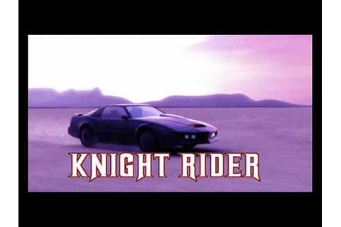 Knight Rider Game Intro - YouTube