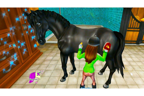 Riding My New Horse - Star Stable Horses Game Let's Play ...