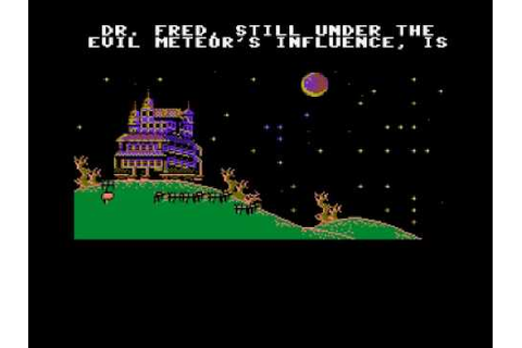 Maniac mansion game over / ending - Kill all your friends ...