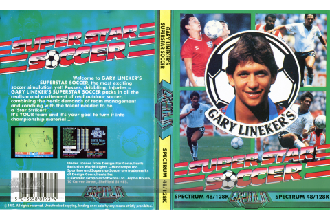 Gary Lineker's Superstar Soccer – The Gremlin Graphics Archive