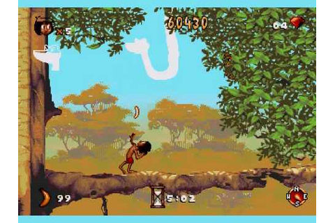 Jungle Book Video Game - YouTube