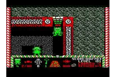 BBC Micro game Bonecruncher - YouTube