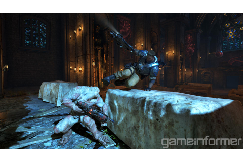 Gears of War 4 Game Informer screenshots - Gematsu