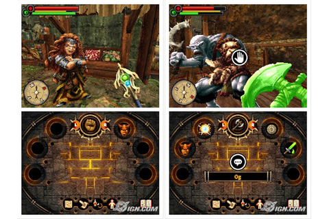 Fighting Fantasy The Warlock of Firetop Mountain DS ROM ...