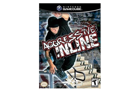Aggressive Inline Skating Game Cube game Acclaim-Newegg.com