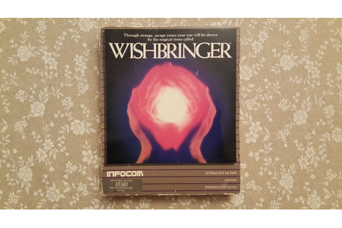Wishbringer for PC IBM big box and collector's notes ...