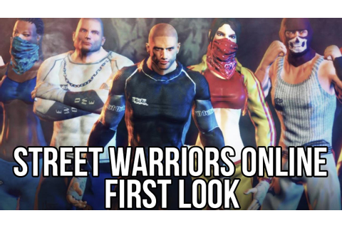 Street Warriors Online (Free Online Fighting Game): Watcha ...