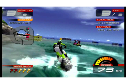 WAVE RALLY PS2 720p - YouTube
