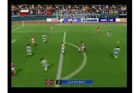 Sega Worldwide Soccer 97 [Sega Saturn] Gameplay (Part 1 ...