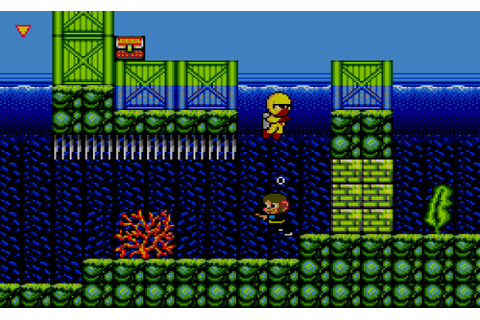 Alex Kidd in Shinobi World (1990, Master System ...