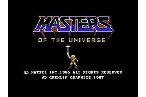 Master of the Universe: The Arcade Game - Commodore - YouTube