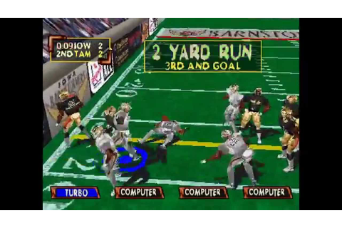 Kurt Warner's Arena Football Unleashed ... (PS1) - YouTube