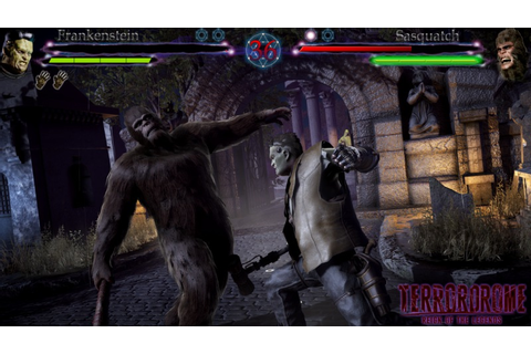 Horror Fighting Game Terrordrome Now On Kickstarter - Rely ...