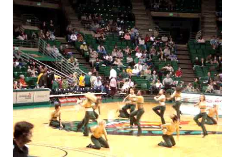 Golden girls of UAB in basketball game - YouTube
