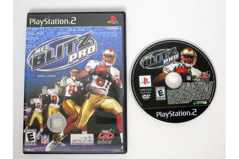 NFL Blitz Pro game for Playstation 2 | The Game Guy
