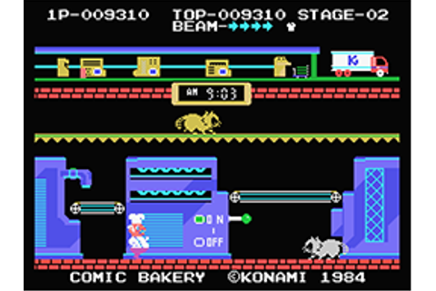 Comic Bakery by Collectorvision Games - ColecoVision ...