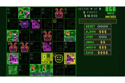 '868-HACK' Review – A Cyber-Roguelike that Excels in ...