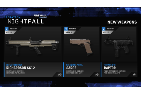 Firewall Zero Hour Operation: Nightfall Update Adds New ...
