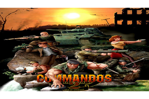 Commandos 2 Men Of Courage PC Game Free Download - Full ...