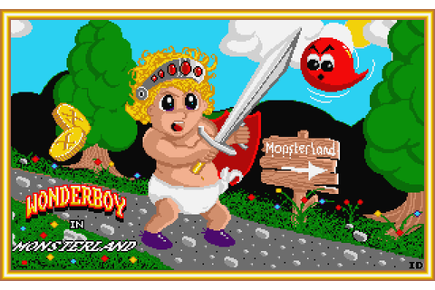 Wonder Boy in Monster Land (1989) by Images Design Atari ...