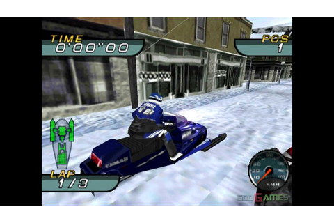 Sno Cross Championship Racing - Gameplay PSX (PS One) HD ...