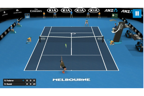 AO Tennis Mobile Video Game Is Available Now To Download ...