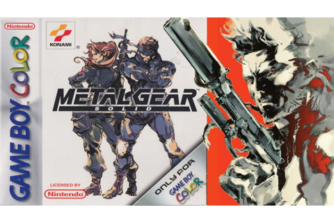 Metal Gear Solid | Game Boy Color/Gameplay/Full HD | TOSE ...