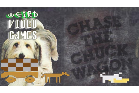 Weird Video Games - Chase the Chuck Wagon (Atari 2600 ...