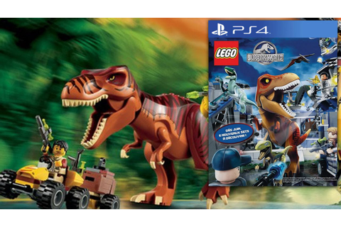 Lego Jurassic World - Video-Game Teaser Footage & Big-Fig ...