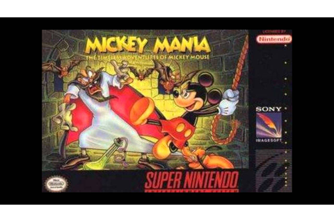 Cowabunga's Daily VGM#227 - Mickey Mania The Timeless ...